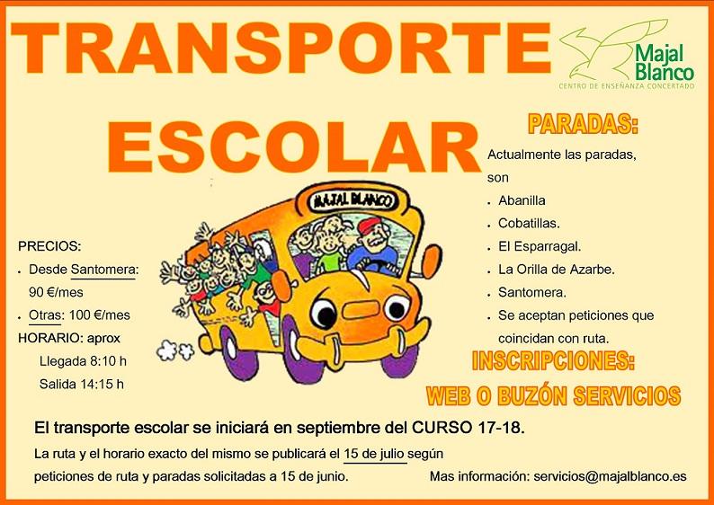 TRANSPORTE 2017-18