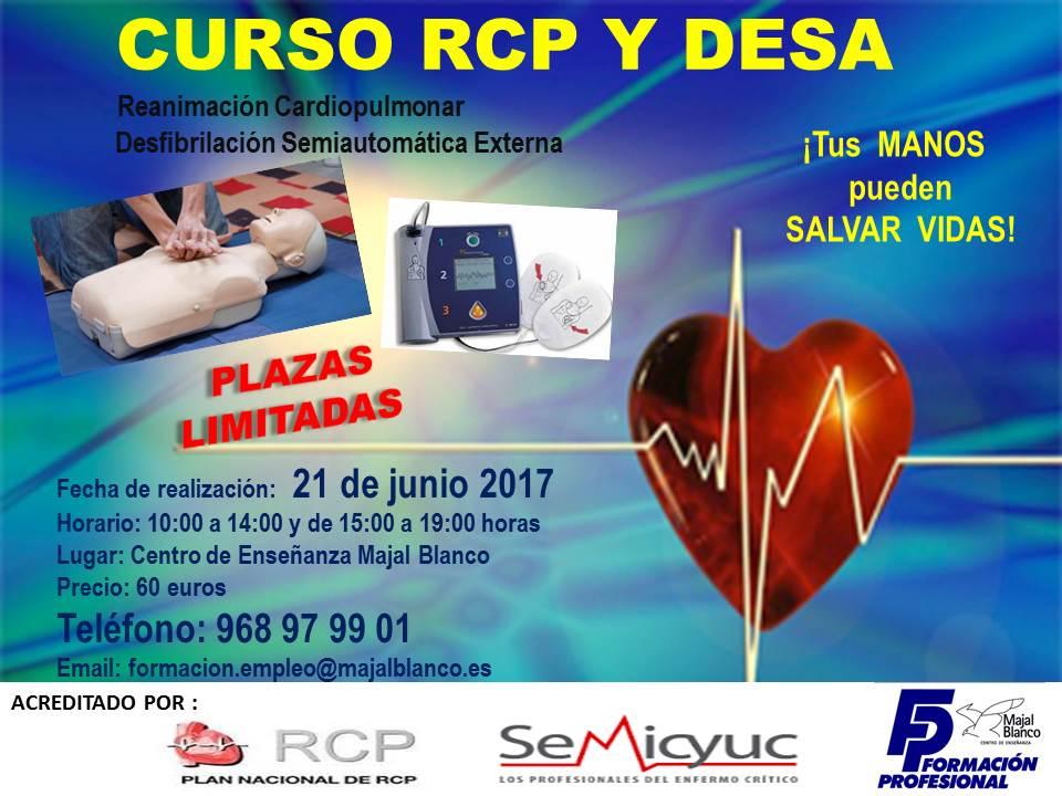 Curso RCP y DESA