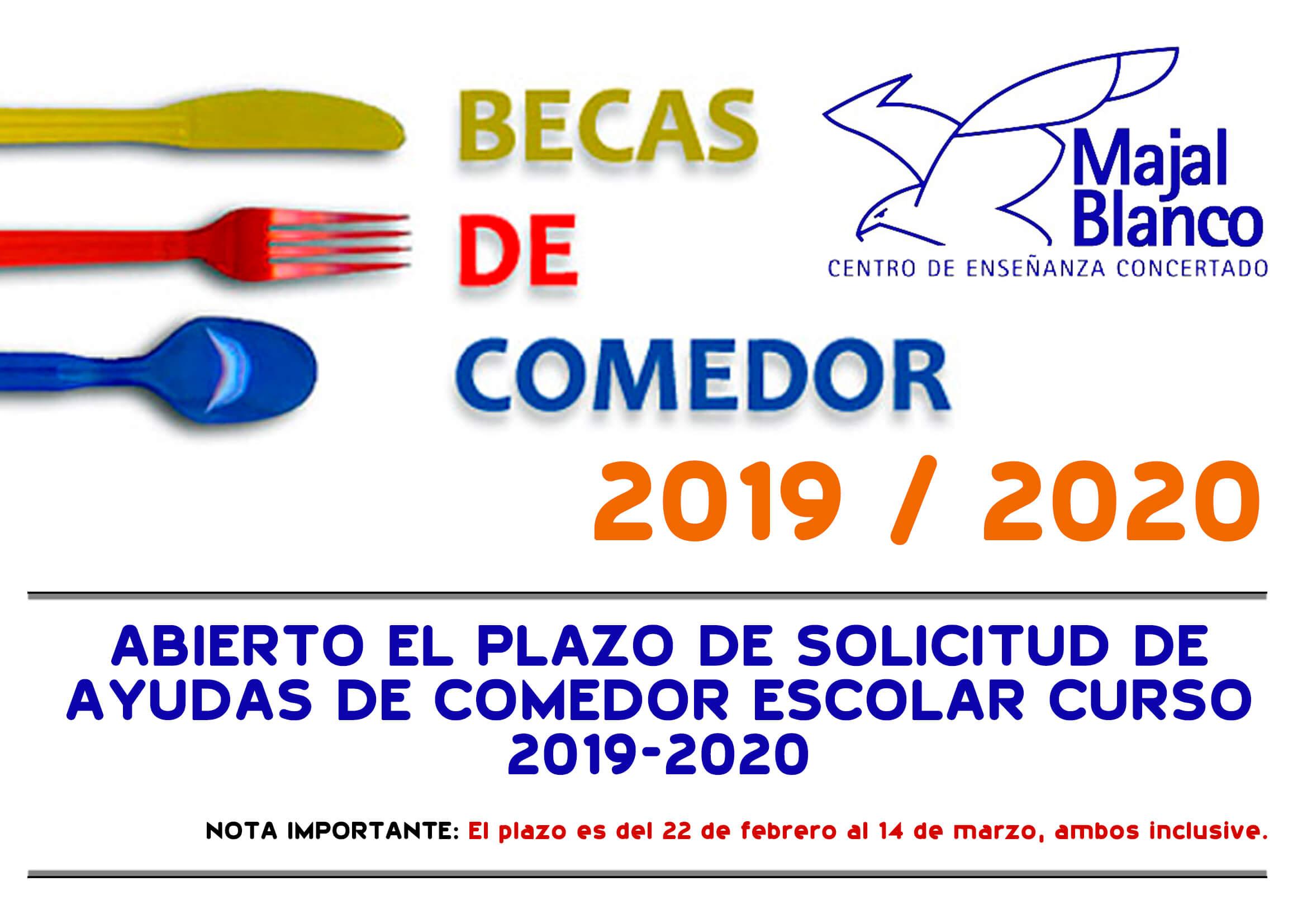 Becas-Comedor - Centro Concertado Majal Blanco