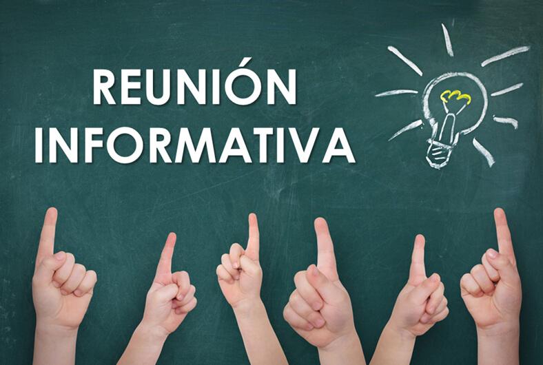 Reuniones informativas inicio de curso ESO, Bachillerato y FP Básica